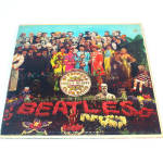 Beatles Sgt Pepper LP Vinyl Record Album Mono