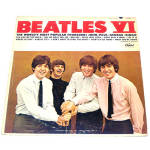 Click to view larger image of Beatles VI LP Vinyl Record Album Mono (Image1)