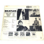 Click to view larger image of Beatles VI LP Vinyl Record Album Mono (Image2)