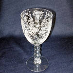Click here to enlarge image and see more about item 10980: Duncan Miller First Love Water Goblet
