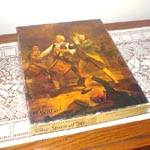 Click here to enlarge image and see more about item 11136: The Spirit of '76 Springbok Jigsaw Puzzle 1975
