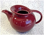 Click here to enlarge image and see more about item 1114: Hall Camellia Windshield Teapot Without Lid
