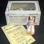 Click to view larger image of Pink Baby Doll With Tree Inge Glass Christmas Ornament Mint in Box (Image2)