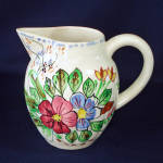 Click here to enlarge image and see more about item 11280-3: Blue Ridge Pottery Verna Pitcher