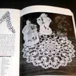 Click to view larger image of American Thread Crochet Flower Doilies Pattern Booklet (Image2)