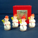 Box 4 Tavern Snowmen Snow Boys Christmas Candles