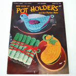 Click here to enlarge image and see more about item 11830-3: New Book of Pot Holders Crochet Pattern Booklet