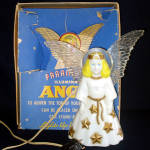Paramount Illuminated Angel Christmas Tree Topper in Original Box