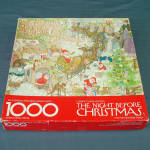 Click here to enlarge image and see more about item 11960-3: The Night Before Christmas Springbok Jigsaw Puzzle