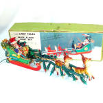 Fairy Light Tales Boxed Lighted Christmas Santa Sleigh With Pixie