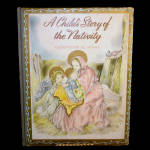 Click here to enlarge image and see more about item 12016: A Child's Story of the Nativity, 1943 Christmas Book