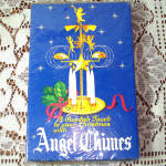 Click here to enlarge image and see more about item 12073-2: Box Swedish Brass Christmas Angel and Party Candle Chimes