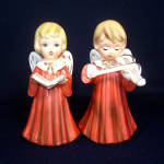 Norleans Japan Pair Musical Choir Angels Figurines