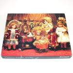 Click here to enlarge image and see more about item 12099-2: Fancy Frilly Antique Dolls Springbok Jigsaw Puzzle