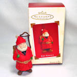 Click here to enlarge image and see more about item 12207-4: Hallmark 2003 Kris Kringle Keepsake Christmas Ornament
