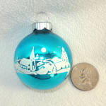 Click to view larger image of Box Shiny Brite Small Stencil, Stripes Glass Christmas Ornaments (Image3)