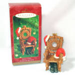 Hallmark 2000 Santa's Chair Keepsake Christmas Ornament