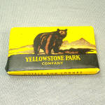 Click here to enlarge image and see more about item 12402: Yellowstone Park Company Bar of Ivory Soap Unopened Souvenir