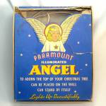 Click here to enlarge image and see more about item 12470: Paramount Illuminated Angel Christmas Tree Topper in Original Box