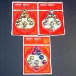 Click here to enlarge image and see more about item 12507: Package Shiny Brite Christmas Jingle Bells Mint on Card