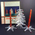 Crystal Pine 1940s Christmas Tree Boxed Centerpiece Set