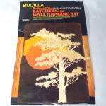 Bucilla 1982 Latch Hook Rug Wall Hanging Kit November Tree