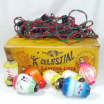 Celestial Japanese Lantern Lights Set in Box Christmas or Party