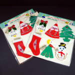 2 Packs Shiny Brite 1950s Money Holder Christmas Ornaments