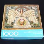 Click here to enlarge image and see more about item 12969: Christmas Angel Jewelry Collage 1000 Pc Springbok Puzzle Original