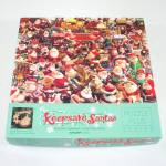Click here to enlarge image and see more about item 12981: Keepsake Santas Springbok Jigsaw Puzzle Hallmark Ornaments
