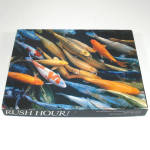 Click here to enlarge image and see more about item 13129: Rush Hour Springbok Gold Fish Cards Jigsaw Puzzle