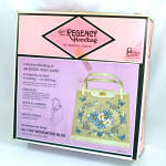 Click here to enlarge image and see more about item 13208: 1960s Regency Jewel Tone Handbag Purse Kit Mint in Box