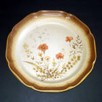 Click to view larger image of 2 Mikasa Whole Wheat Jardiniere Dinner Plates (Image2)