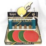 Click here to enlarge image and see more about item 13273: Knight Table Tennis Ping Pong Set in Box