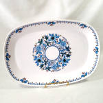 Click here to enlarge image and see more about item 13504: Noritake Blue Moon 13 Inch Serving Platter