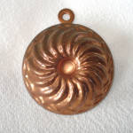 Click here to enlarge image and see more about item 13593: Miniature Copper Swirl Turks Head Candy Mold
