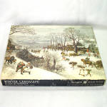 Click here to enlarge image and see more about item 13671: Winter Landscape Valckenborch Fine Art Springbok Jigsaw Puzzle