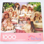 Click here to enlarge image and see more about item 13679: Dolls Tea Party Springbok 1000 Piece Jigsaw Puzzle