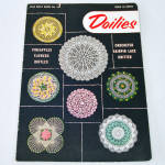 Click here to enlarge image and see more about item 13790: Crochet Doilies Star Pattern Instruction Booklet 1953