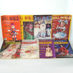 Click here to enlarge image and see more about item 13810: 8 Issues National Doll World Magazine 1979