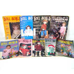 Click here to enlarge image and see more about item 13834: National Doll World Magazine 9 Issues 1980 - 1982