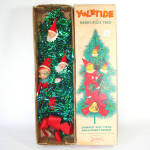 Boxed Yuletide Pixie Elves Tinsel Christmas Door Wall Tree