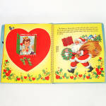 Click to view larger image of 1953 Christmas Pop Up Santa Mother Goose Book In Box With Toys (Image5)