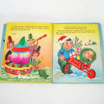 Click to view larger image of 1953 Christmas Pop Up Santa Mother Goose Book In Box With Toys (Image6)