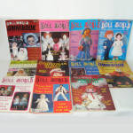 Click here to enlarge image and see more about item 14013: 11 Issues National Doll World Magazine 1984