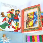 Click to view larger image of Santa's Tuney Toy 1956 Christmas Pop Up Book With Xylophone (Image3)