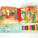 Click to view larger image of Santa's Tuney Toy 1956 Christmas Pop Up Book With Xylophone (Image5)