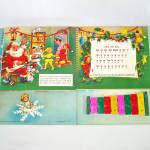 Click to view larger image of Santa's Tuney Toy 1956 Christmas Pop Up Book With Xylophone (Image7)