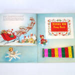 Click to view larger image of Santa's Tuney Toy 1956 Christmas Pop Up Book With Xylophone (Image8)
