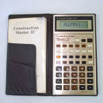 Click to view larger image of Construction Master II Building Calculator Complete in Box (Image2)